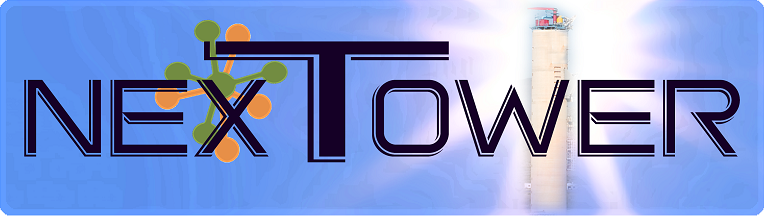 logo of NEXTOWER project